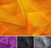 Geometric abstract background. Series, file format EPS 10 Royalty Free Stock Photos