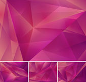Geometric abstract background. Series, file format EPS 10 Stock Image
