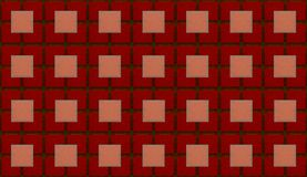 Geometric abstract background square texture dark red tile Stock Photo