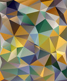 Geometric Abstract Background, Triangular Modern style Stock Photo