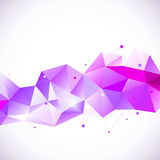 Geometric abstract background Royalty Free Stock Images
