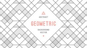 Geometric abstract background Royalty Free Stock Photography