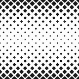 Geometric abstract black and white rounded square pattern background design with diagonal squares Stock Photography