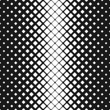 Geometric abstract black and white rounded square pattern background - vector design Stock Images