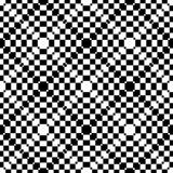 Geometric abstract black and white seamless pattern Royalty Free Stock Photo