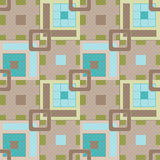 Geometric abstract bright elements seamless pattern Stock Photo