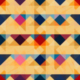 Geometric abstract color pattern vector illustration. Vector eps 10 Royalty Free Stock Images