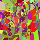 Geometric abstract colored multicolor mosaic backdrop  with swir Royalty Free Stock Images