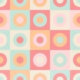 Geometric abstract elements seamless pattern Stock Photo