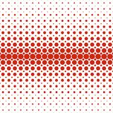 Geometric abstract halftone dot pattern background - vector graphic design from circles in varying sizes. Geometric abstract halftone dot pattern background stock illustration