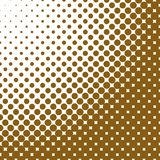 Geometric abstract halftone dot pattern background - vector illustration. From circles royalty free illustration
