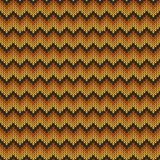 Geometric abstract knitted pattern. Autumn seamless pattern. Des. Ign for sweater, scarf, comforter or clothes texture. Vector illustration stock illustration