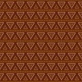 Geometric abstract knitted pattern. Autumn seamless pattern. Des. Ign for sweater, scarf, comforter or clothes texture. Vector illustration royalty free illustration