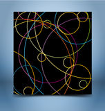 Geometric abstract mosaic background Royalty Free Stock Photo
