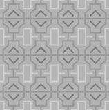 Geometric abstract oriental seamless pattern. Vector illustration Stock Photography
