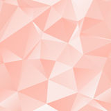 Geometric Abstract Pattern. Geometric pink pattern. Abstract ornament with colored shapes Stock Photography