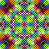 Geometric abstract pattern. Seamless background. Geometric abstract diagonal pattern in low poly pixel art style vector illustration