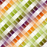 Geometric abstract pattern. Stock Image