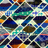 Geometric abstract pattern. Stock Photography