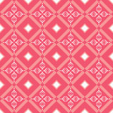 Geometric abstract pattern. Geometric abstract seamless pattern on red background Stock Images