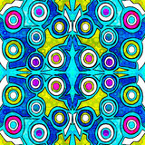 Geometric abstract pattern vector illustration of graffiti Stock Images