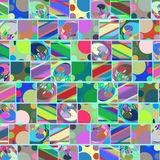 Geometric abstract rectangles and lines background , image. Geometric abstract rectangles and lines background , vector picture Royalty Free Stock Images