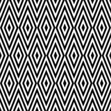Geometric abstract retro seamless pattern background Royalty Free Stock Photo