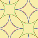 Geometric abstract seamless pattern Royalty Free Stock Photography