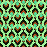 Geometric abstract seamless pattern Royalty Free Stock Image
