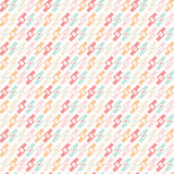 Geometric abstract seamless pattern background Stock Photos