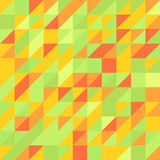Geometric abstract seamless pattern colorful Stock Photos