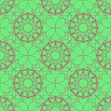 Geometric abstract seamless pattern. Delicate trendy design backgrounds. Seamless texture with geometric elements. Vector  Royalty Free Stock Images