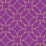 Geometric abstract seamless pattern extended Royalty Free Stock Photo