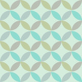 Geometric abstract seamless pattern Stock Photos