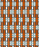 Geometric abstract seamless pattern. Linear motif background Royalty Free Stock Image