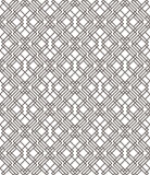 Geometric abstract seamless pattern. Linear motif background Stock Image
