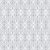 Geometric abstract seamless pattern. Linear motif background Stock Photo