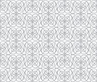 Geometric abstract seamless pattern. Linear motif background Stock Photo