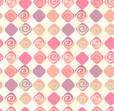 Geometric abstract seamless pattern motif background. Colorful s Stock Photos