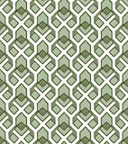 Geometric abstract seamless pattern motif background Stock Images