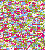 Geometric abstract seamless pattern motif background. Triangles Royalty Free Stock Images