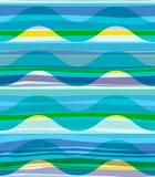 Geometric abstract seamless pattern Stock Image
