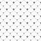 Geometric abstract seamless pattern with rhombuses, squares. Royalty Free Stock Photography