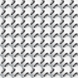 Geometric abstract seamless pattern Royalty Free Stock Photo