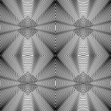 Geometric abstract seamless pattern. Vector illustration. Stock Photo