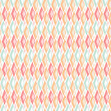 Geometric abstract seamless pattern on white background Stock Images