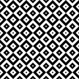 Regular checked seamless pattern black and white. Geometric abstract seamless texture black and white design.  Abstract  background  with checked Stock Photos