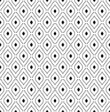 Geometric Abstract Seamless Vector Pattern Stock Photography