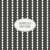 Geometric abstract striped seamless pattern with Stock Image