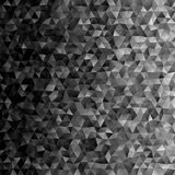 Geometric abstract triangle polygon background template. Design Stock Photography